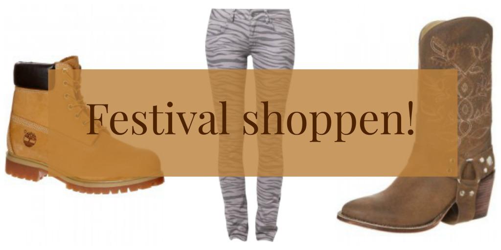 Festival shoppen