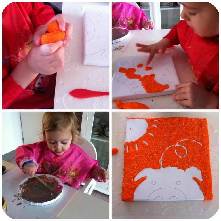 Paulinda *maak-het-zelf-schilderijtje*
