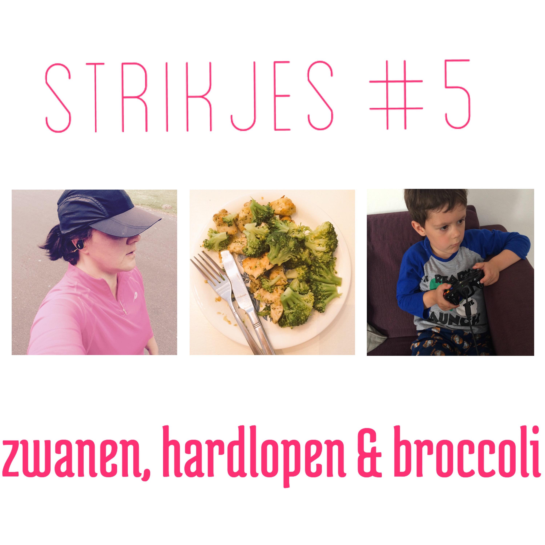 Strikjes #5 Zwanen, Hardlopen en Broccoli