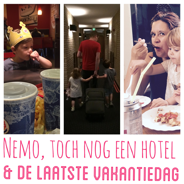 Strikjes #8 Nemo, toch een hotel en de laatste vakantiedag