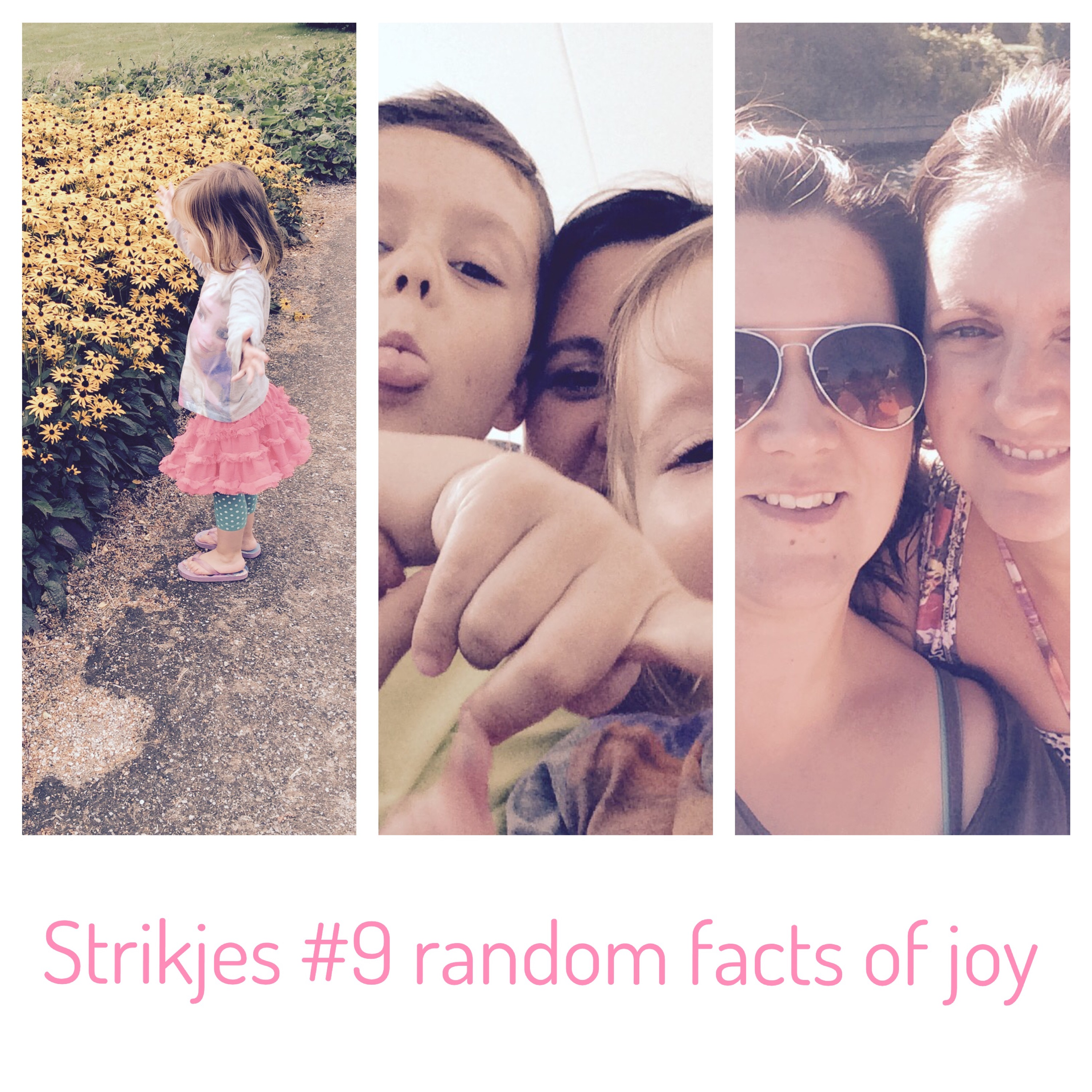 Strikjes #9 Random Facts of Joy