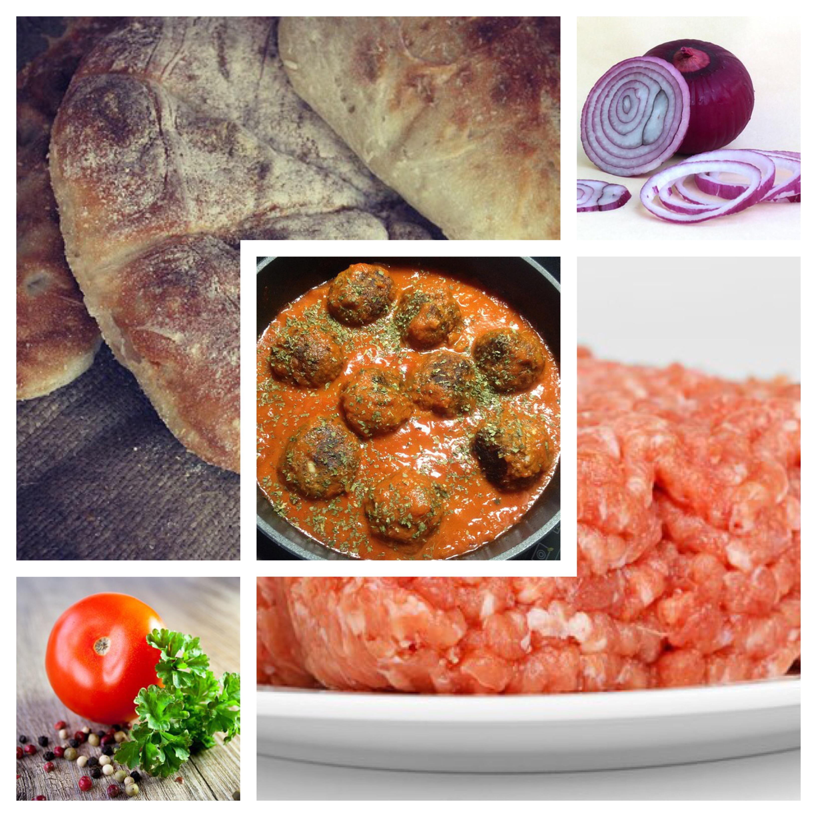 Mexicaanse gehaktballetjes met Turks brood