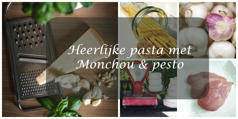 Pasta met Monchou en pesto