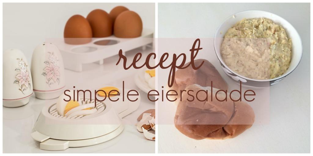 recept simpele eiersalade