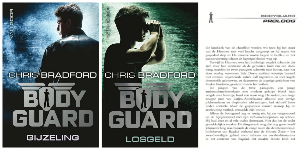 Nieuwe boekenserie van Chris Bradford