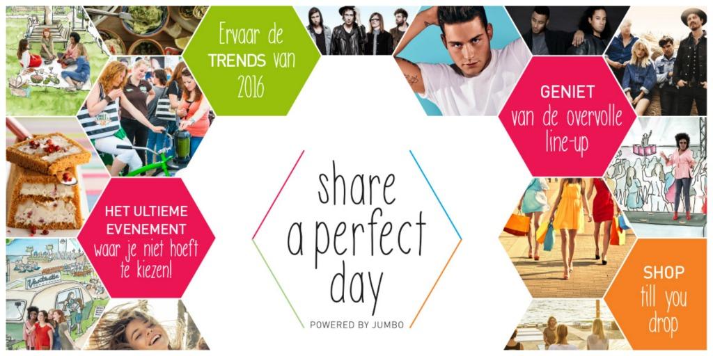 Share a perfect day - een stap buiten mijn comfortzone
