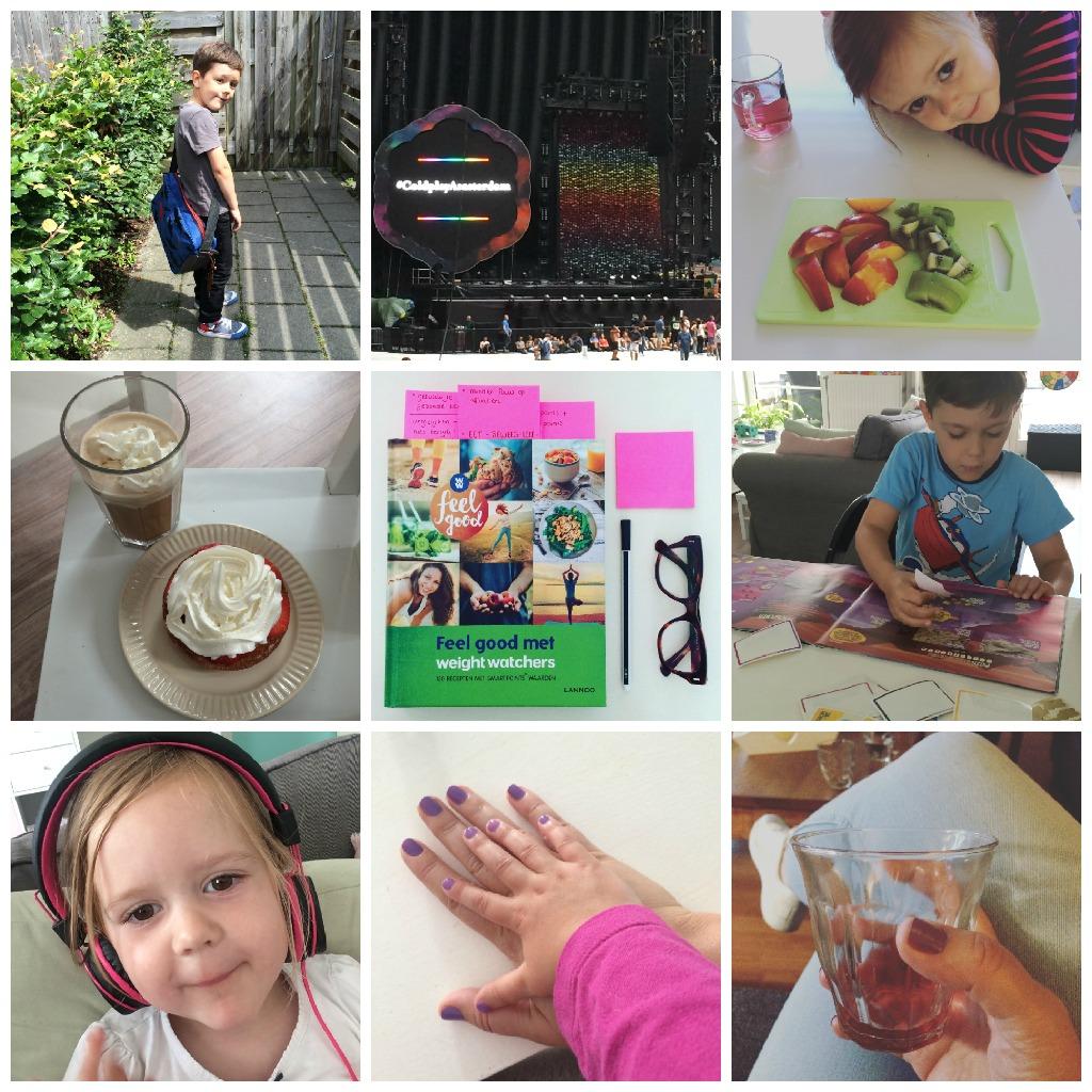 Strikjes #47 meisjes mama moment, Coldplay en fijne verjaardag