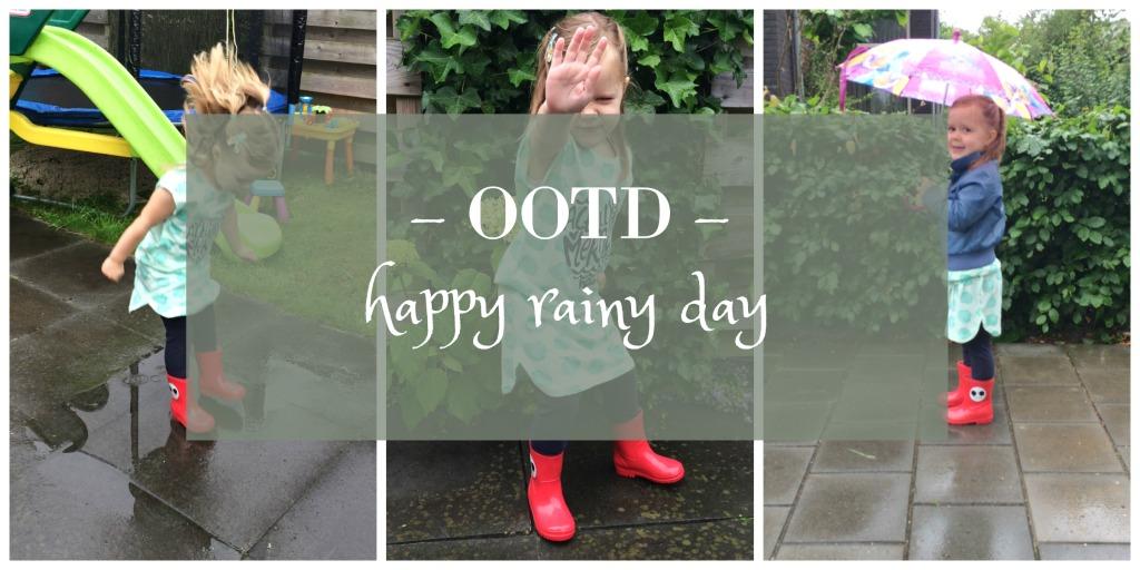OOTD | happy rainy day