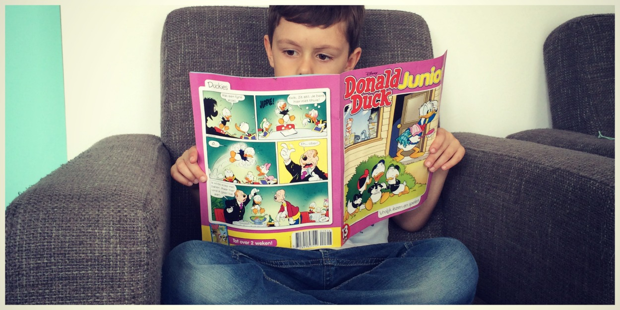 Gratis exemplaar donald duck junior for Abonnement donald duck junior