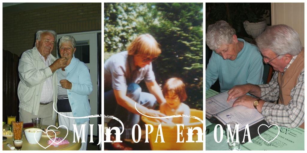 De brandgang naar mijn opa en oma