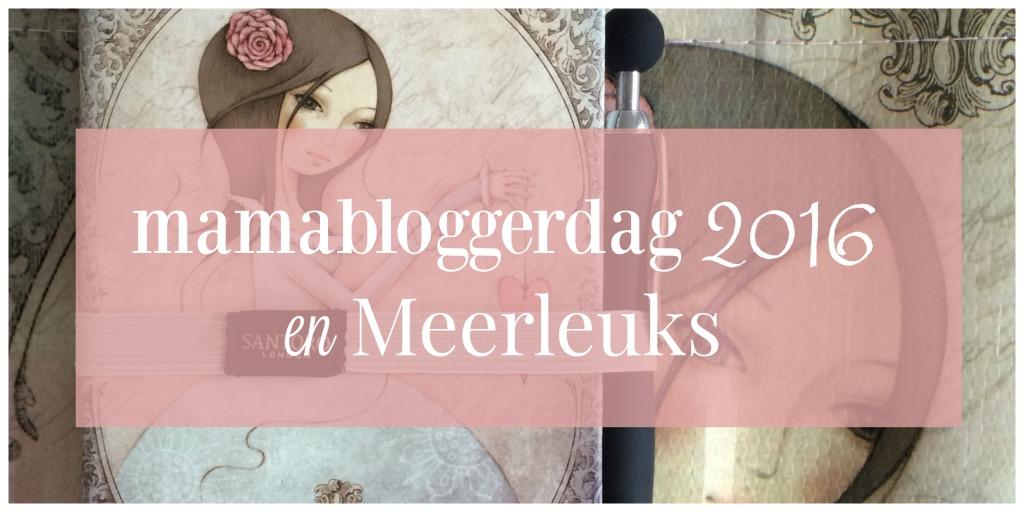 Mamabloggerdag 2016 en Meerleuks