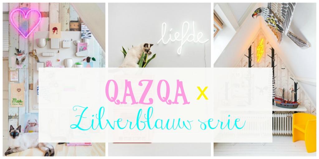 qazqa-x-zilverblauw-serie