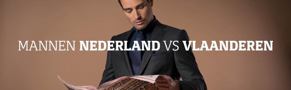 Nederlandse man sportiever dan Vlaamse man