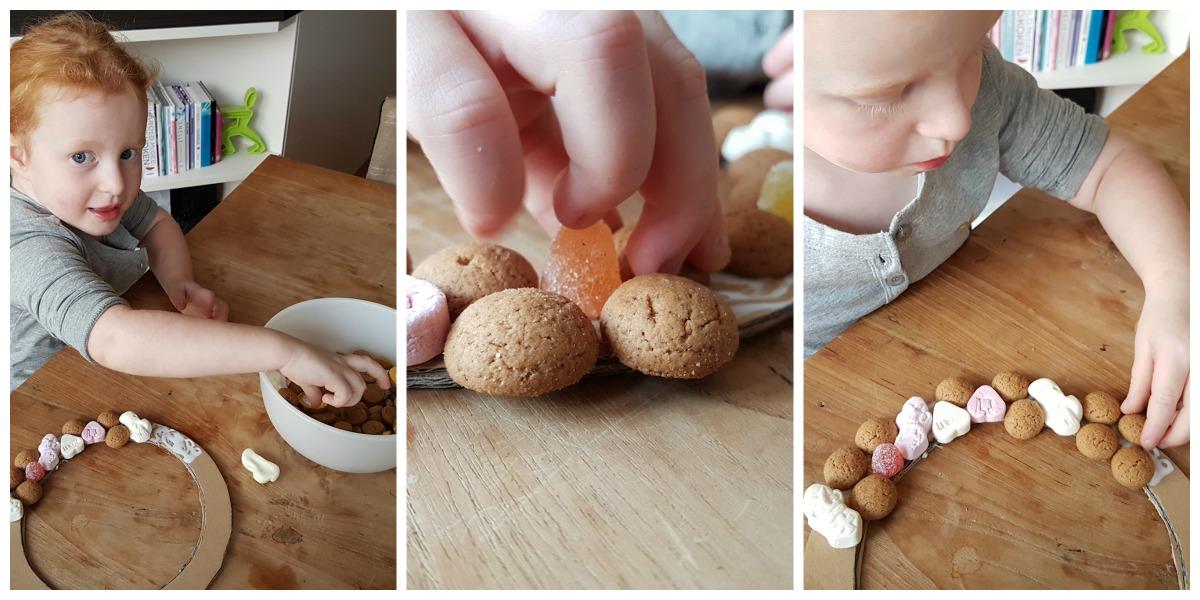 een-pepernotenkrans-knutselen-voor-sinterklaas-collage
