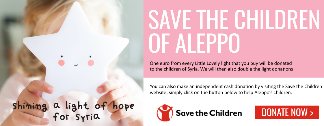 Save the children of Aleppo