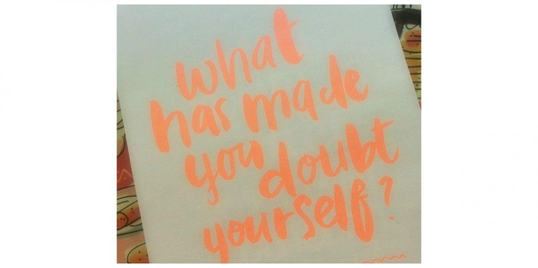 Twijfelen aan mezelf
