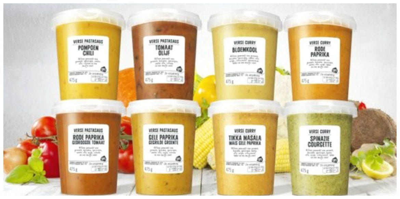 Verse soepen pastasauzen en curry