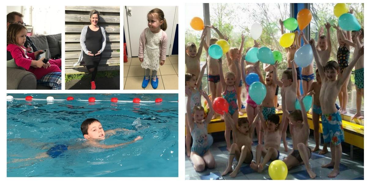 Strikjes #79 zevende verjaardag, afzwemmen en Pasen