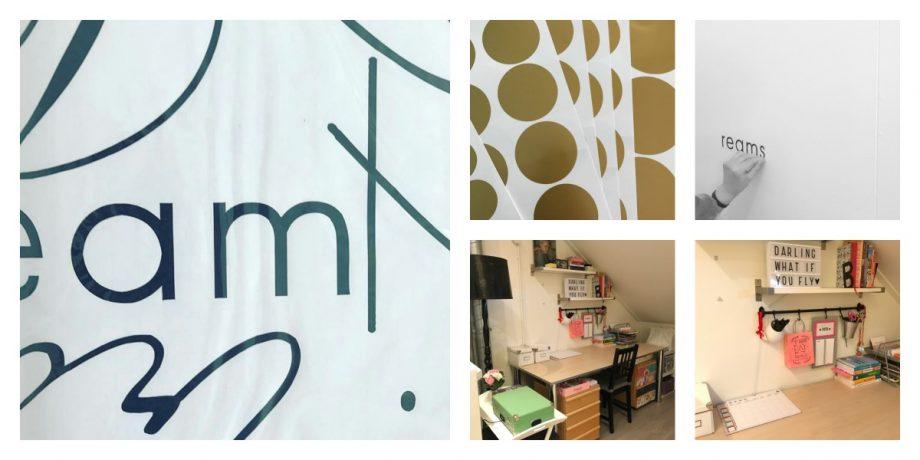 Wat doe je met een saaie witte muur muursticker decoratie makkelijk je interieur veranderen - Binnenkleuren met witte muur ...