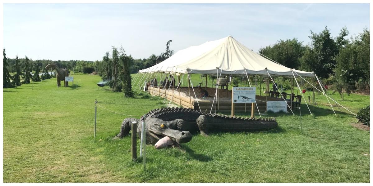 Dinopark Tenaxx opgravingen overdekt