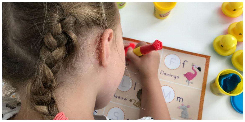 Play-Doh Spelen en Leren