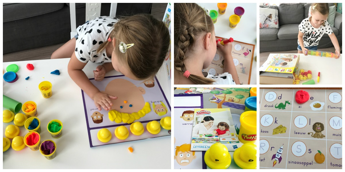 Play-Doh Letters en Taal