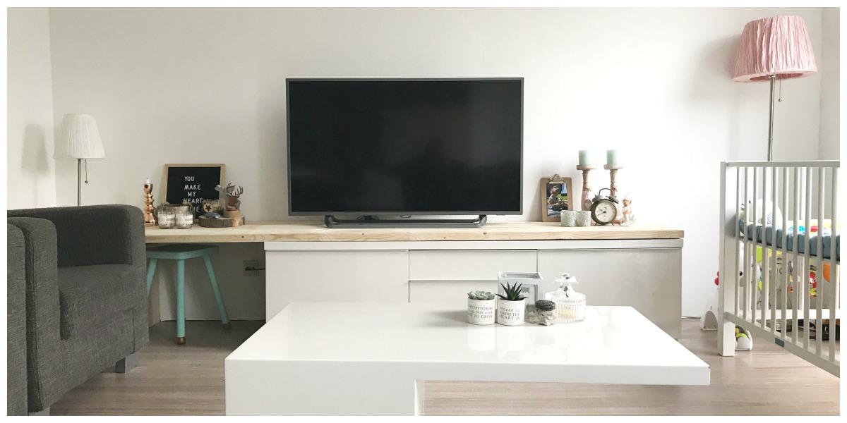 Best Burs Tv Meubel.Ikea Besta Burs Hack Mama Lifestyle Met Een Strikje