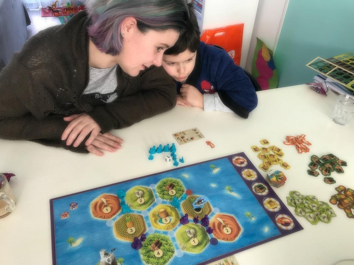 Catan junior spelbord