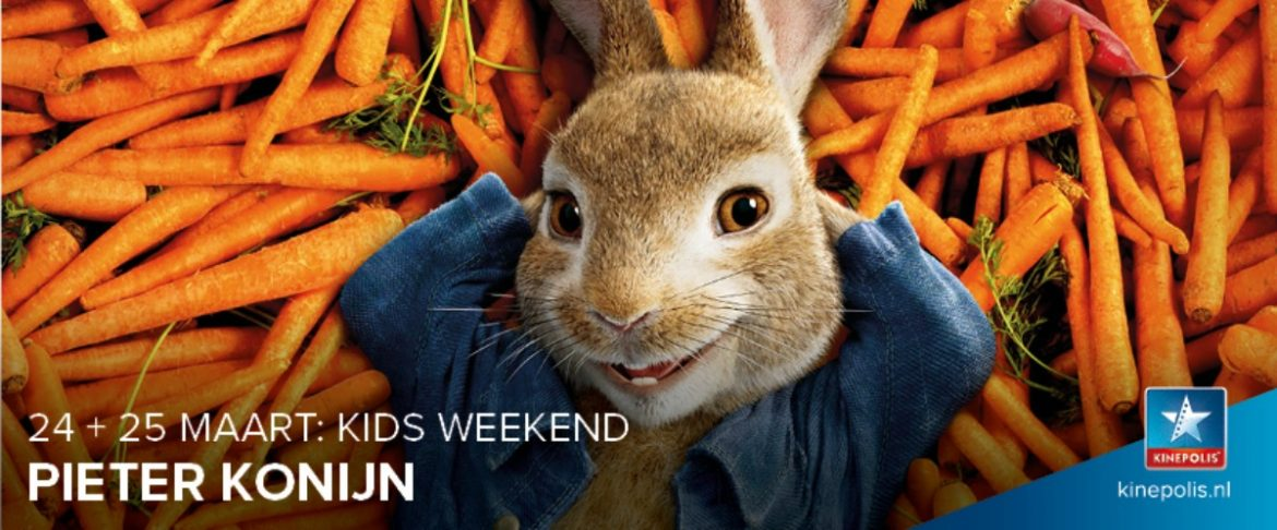 Kinepolis Kids Weekend: Pieter Konijn