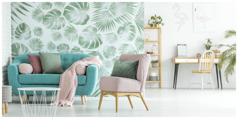 Behang trends en tips 2018