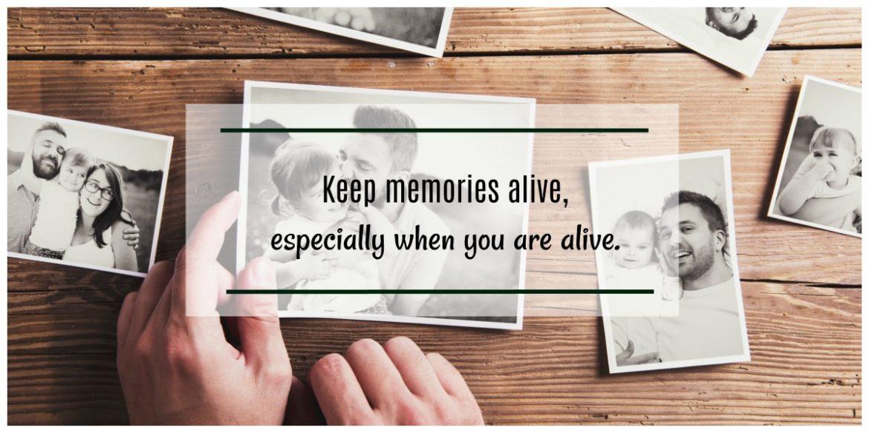 Herinneringen bewaren