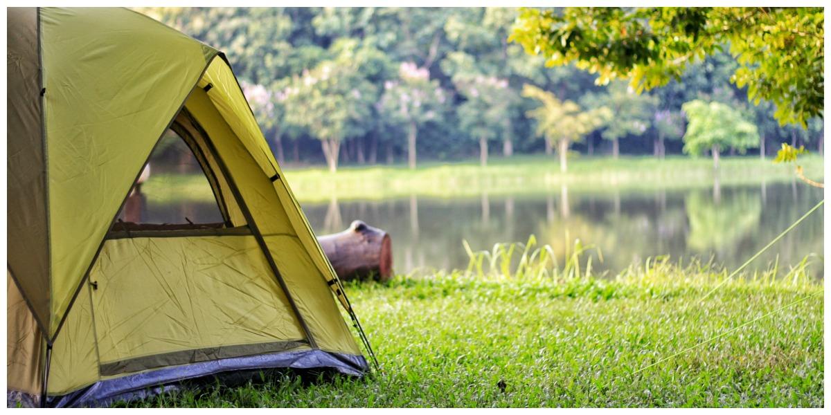 Camping of glamping