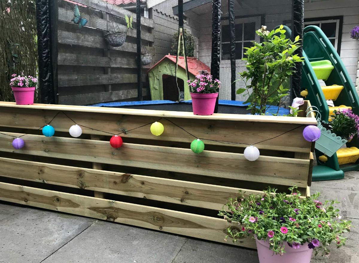 Mini budget tuinmetamorfose voor een kindvriendelijke tuin