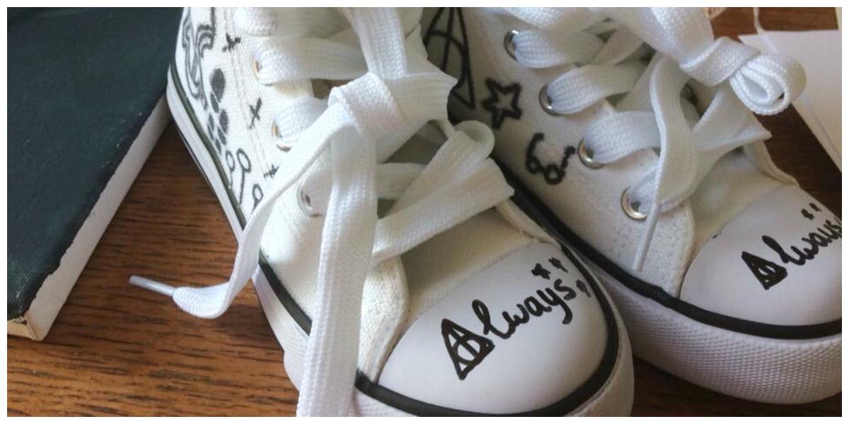 Harry Potter schoenen pimpen