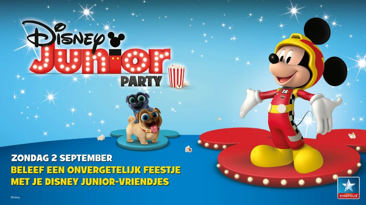 Disney Junior Party kleuterbios Kinepolis