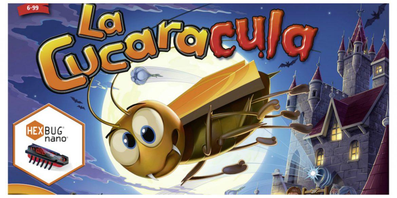 La Cucaracula het Spel met de razendsnelle kakkerlak