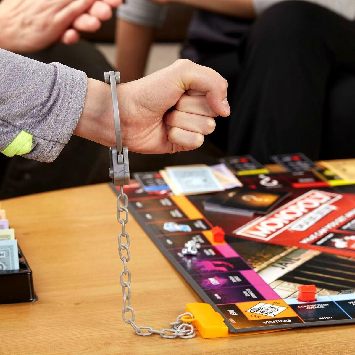 Monopoly valsspelers editie gezelschapsspel