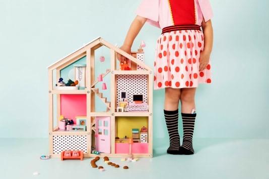 Het leukste houten speelgoed poppenhuis
