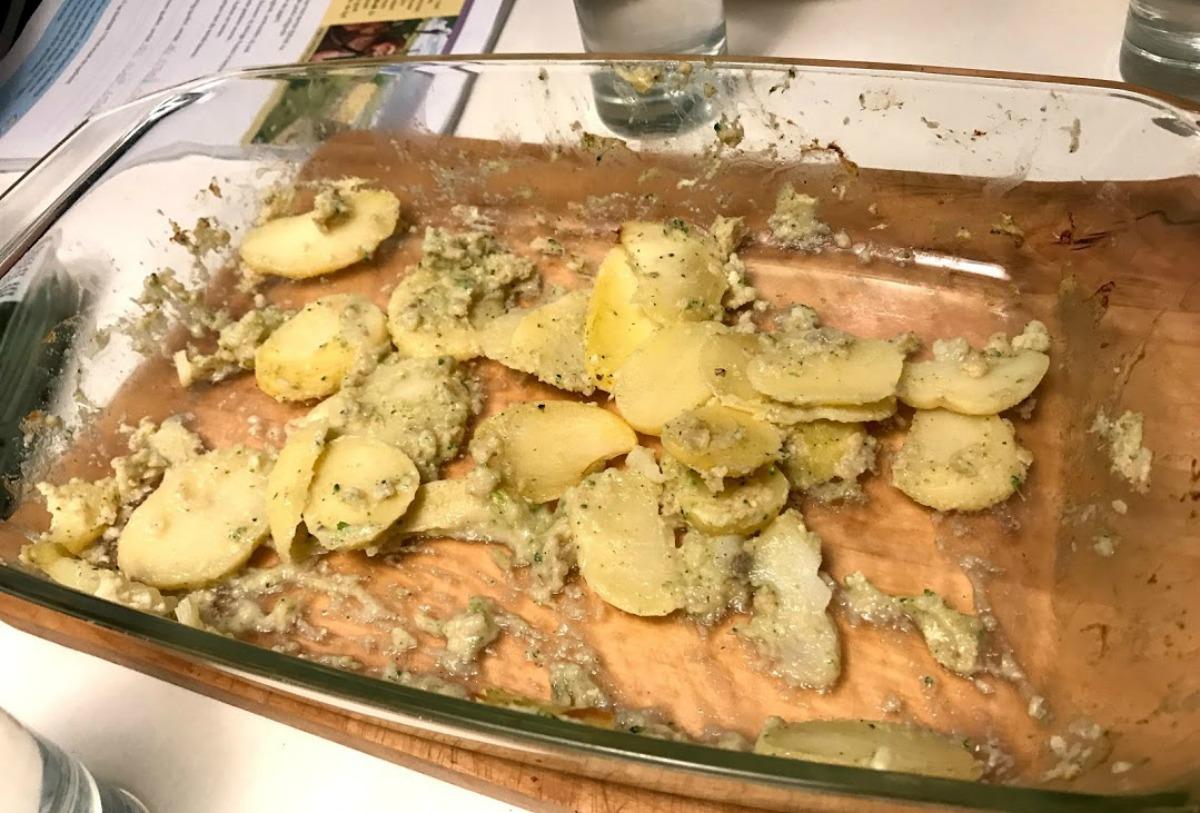 Makkelijke ovenschotel met broccoli en bloemkool