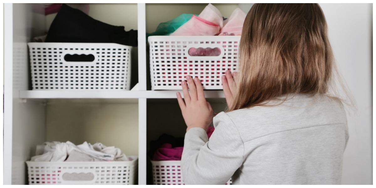 Indeling Garderobe met manden, Tips voor een praktische kastindeling