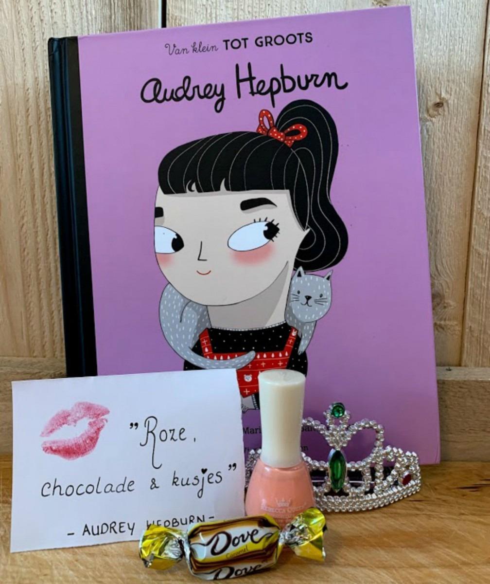 sterke vrouwen, coco chanel, Audrey Hepburn - van klein tot groots