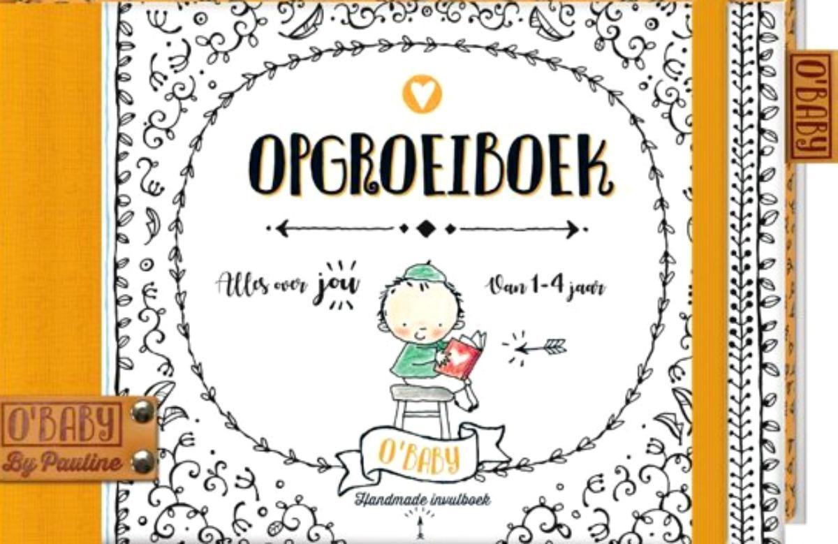 Winactie - Nieuwe lijn invulboeken van Pauline Oud - baby's eerste jaar