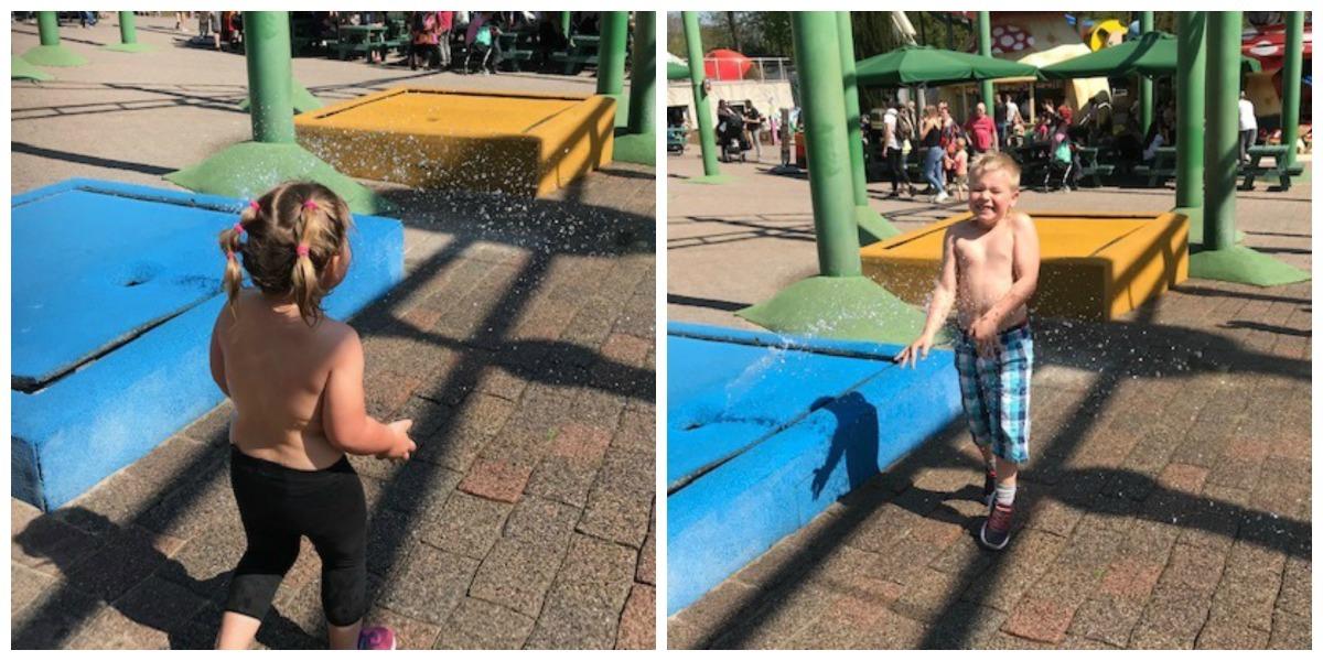 Nat pak, Nieuwe attractie in Kinderpretpark Julianatoren