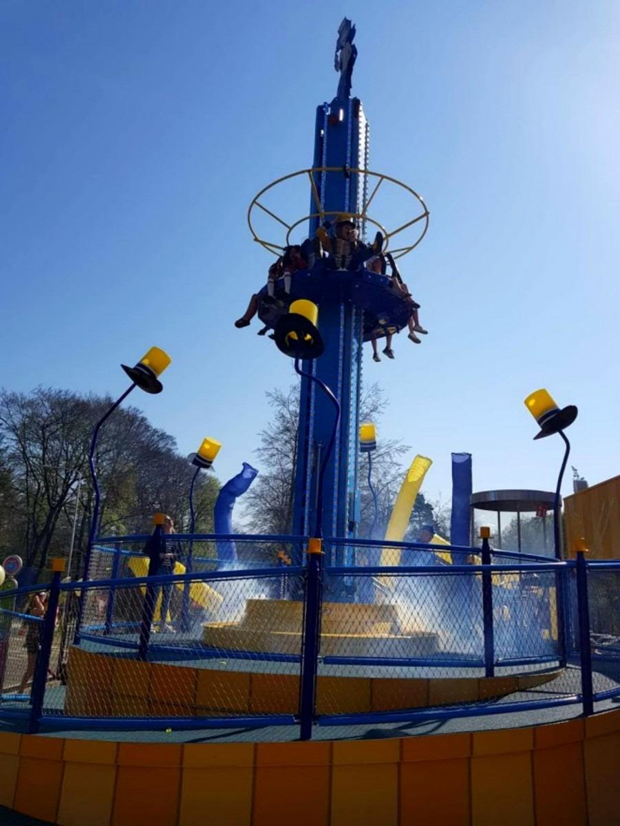 Openingnieuwe attractie in Kinderpretpark Julianatoren, De Hoge Hoed