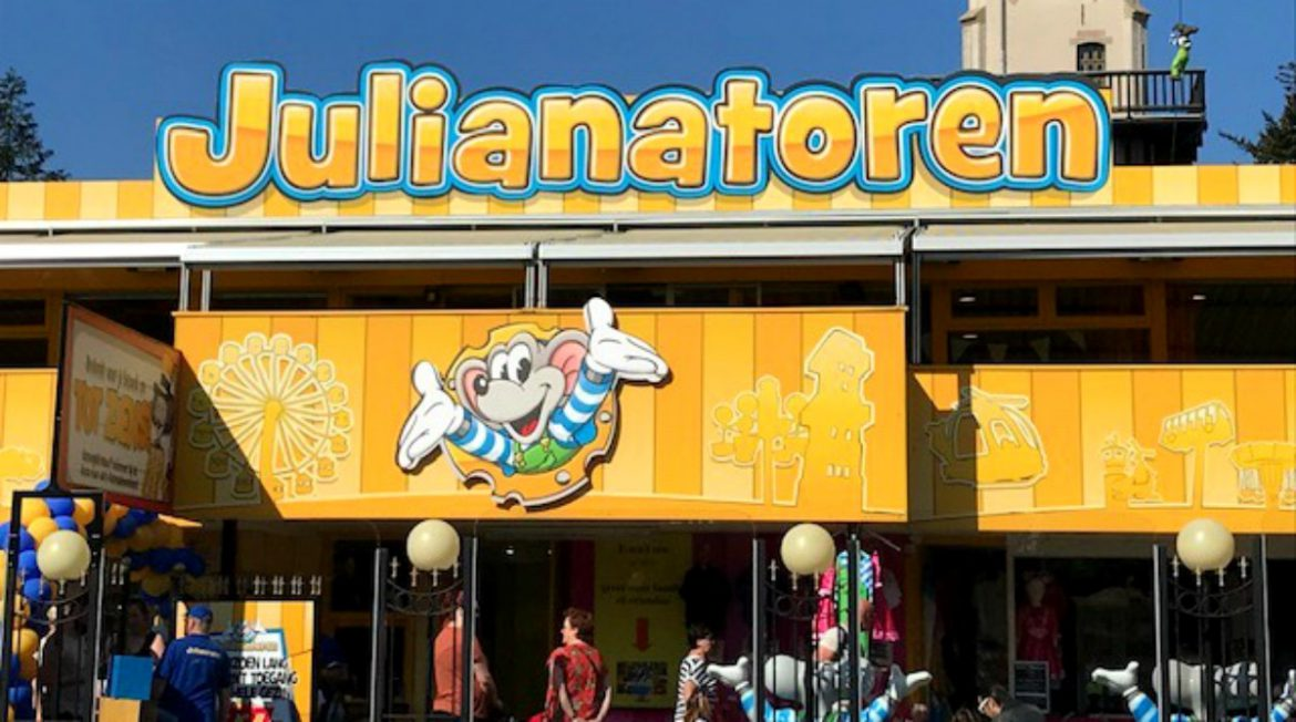 Nieuwe attractie in Kinderpretpark Julianatoren, Cas de Ranger, Jul de Muis, Julia de Muis