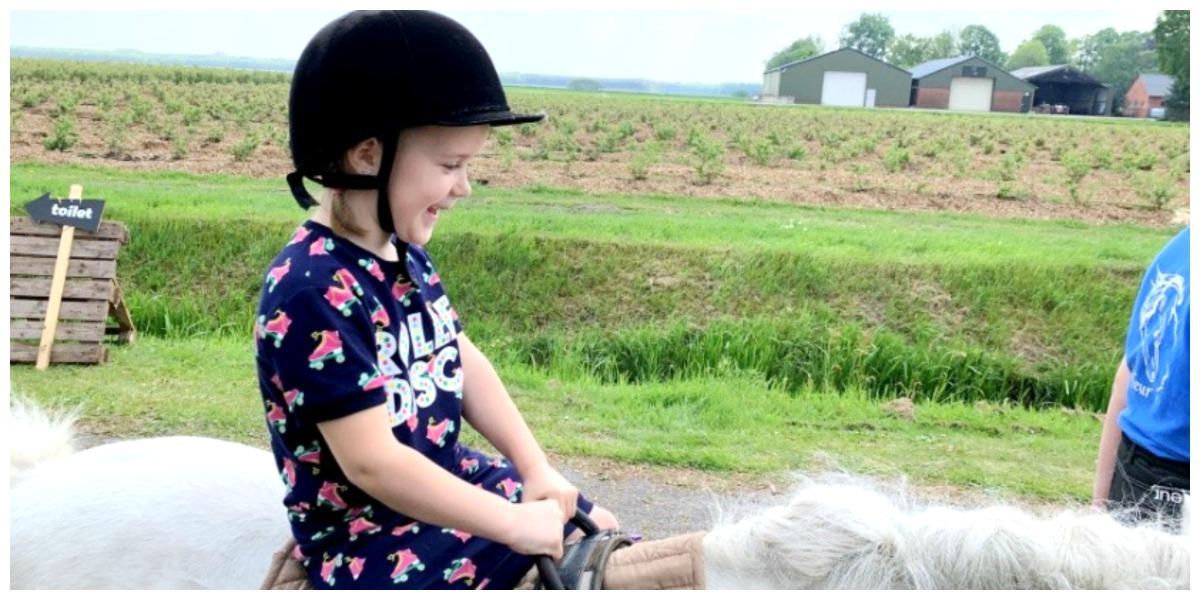 ponyrijden boerderijfair