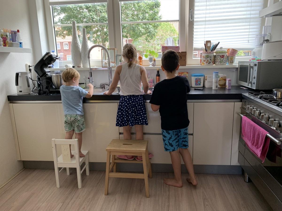 Een glazen keuken achterwand maakt alles mogelijk