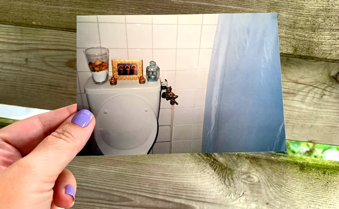 kitscherig toilet