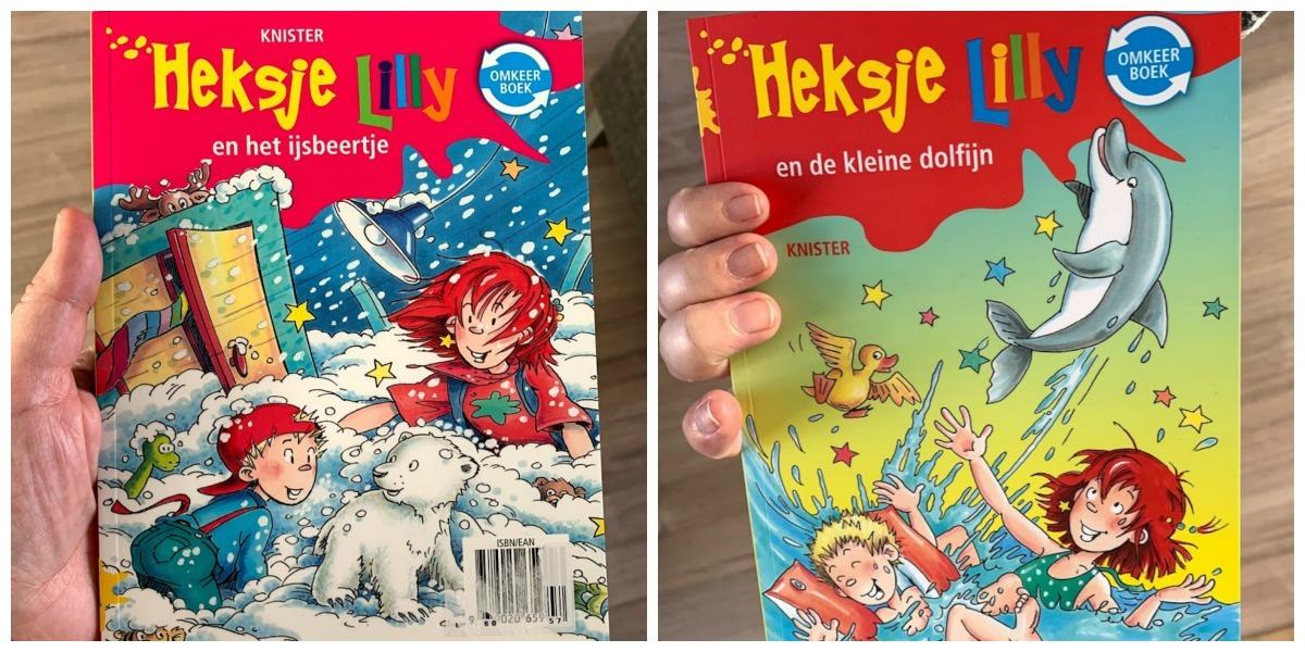 Heksje Lilly, kinderboek zeven jaar