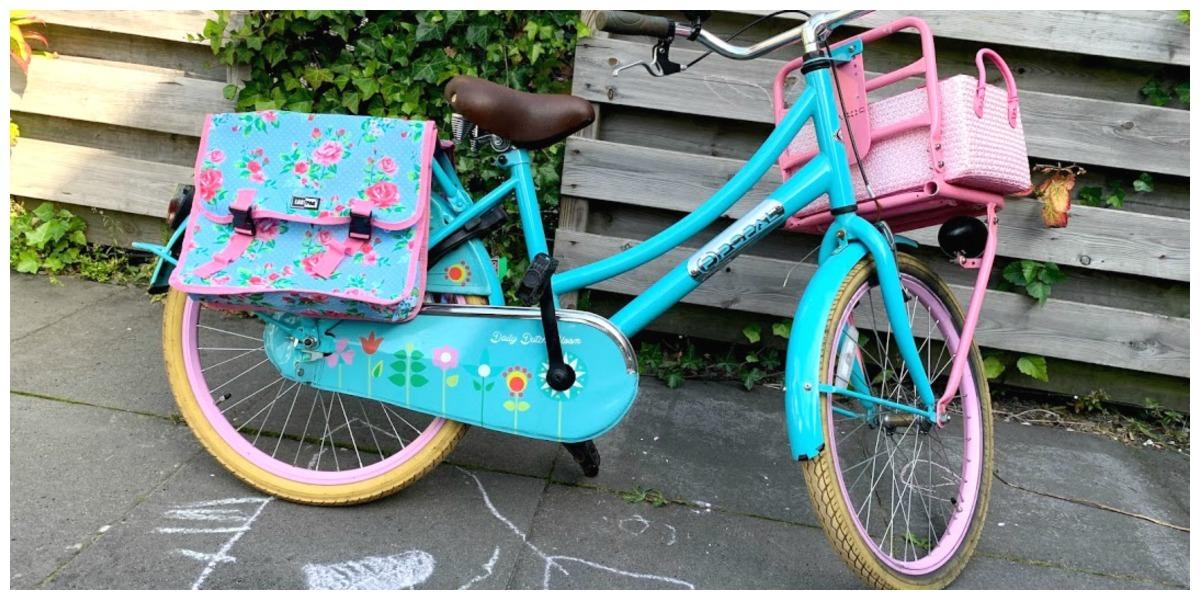 Cadeautjes voor een meisje van zeven, fietstassen voor kinderfiets